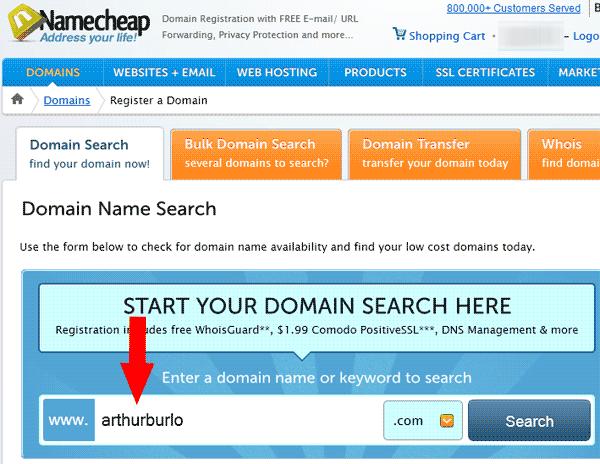 Register a Domain 2