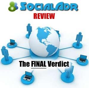 SocialADR Review